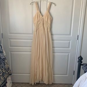 Vintage inspired evening gown